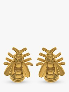 Read more about Alex monroe bee stud earrings gold