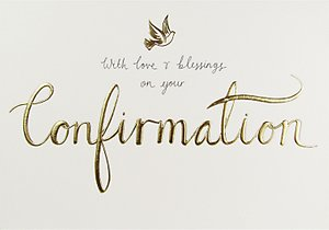 Read more about Woodmansterne love blessings confirmation card