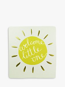 Read more about Caroline gardner welcome little one greeting card