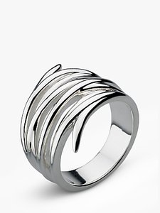 Read more about Kit heath twine helix wrap ring silver