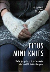 Read more about Baa ram ewe titus mini knits accessory knitting pattern book