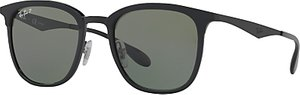Read more about Ray-ban rb4278 polarised square sunglasses matte black grey