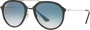 Read more about Ray-ban rb4253 aviator sunglasses black blue gradient