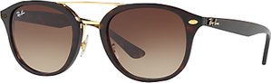 Read more about Ray-ban rb2183 square sunglasses tortoise brown gradient