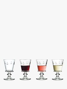 Read more about La roch re bee stemmed goblet set of 4 240ml clear