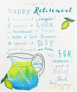 Read more about Woodmansterne recipe for a happy retirement greeting card