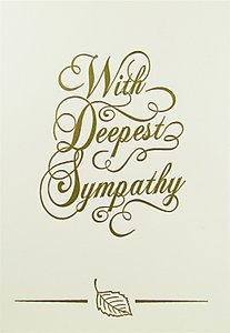 Read more about Quire collections with deepest sympathy card