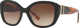Read more about Burberry be4248 square sunglasses black brown gradient
