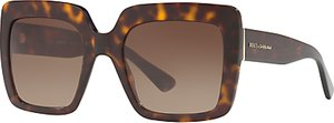 Read more about Dolce gabbana dg4310 oversize square sunglasses tortoise brown gradient