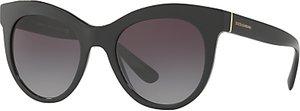 Read more about Dolce gabbana dg4311 oval sunglasses matte black purple gradient