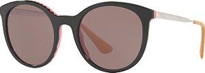Read more about Prada pr 17ss oval sunglasses black brown