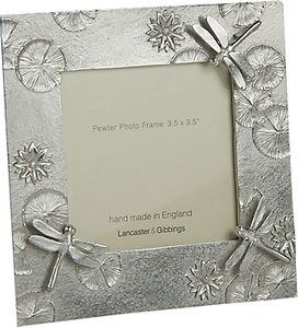 Read more about Lancaster and gibbings pewter dragonfly photo frame silver 3 5 x 3 5 9 x 9cm