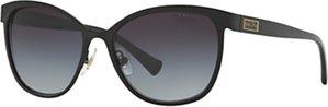 Read more about Ralph ra4118 cat s eye sunglasses black grey gradient