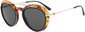 Read more about Giorgio armani ar6055 oval sunglasses gold tortoise black