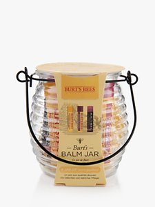 Read more about Burt s bees balm jar gift set