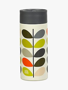Read more about Orla kiely multi stem travel mug cream multi 350ml