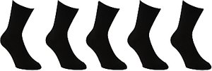 Read more about John lewis cotton rich ankle socks pack of 5 black