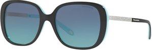 Read more about Tiffany co tf4137b square sunglasses black blue gradient