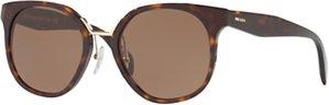 Read more about Prada pr 17ts square sunglasses tortoise