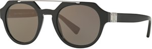 Read more about Dolce gabbana dg4313 oval sunglasses black brown