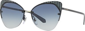 Read more about Bvlgari bv6096 cat s eye sunglasses navy blue gradient