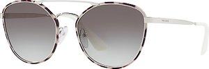 Read more about Prada pr 63ts oval sunglasses brown havana brown gradient
