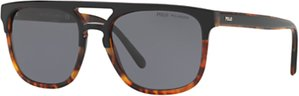 Read more about Polo ralph lauren ph4125 polarised d-frame sunglasses tortoise grey