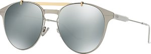 Read more about Christian dior diormotion1 round sunglasses silver mirror grey