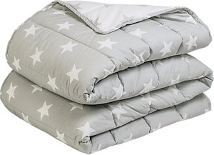 Read more about Great little trading co quilted star print bedspread