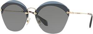 Read more about Miu miu mu 53ss oval sunglasses grey