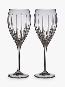 Read more about John lewis glacier stemmed wine goblets clear 375ml set of 2