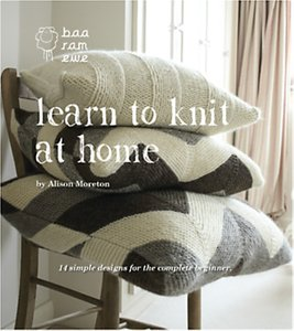 Read more about Baa ram ewe learn to knit at home knitting book by alison moreton