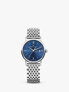 Read more about Maurice lacroix el1094-ss002-410-1 women s eliros date bracelet strap watch silver blue