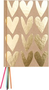 Read more about Caroline gardner hearts multi ribbon notebook