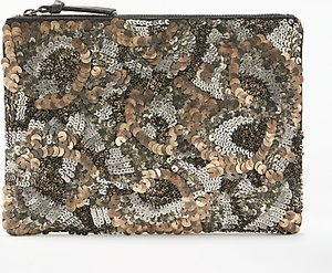 Read more about And or marla distressed beaded clutch multi