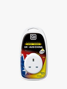 Read more about Go travel usb uk to australia china travel adaptor