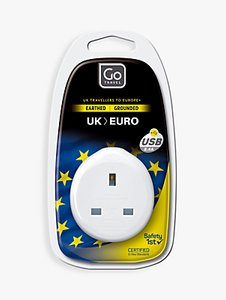 Read more about Go travel usb uk to eu travel adaptor