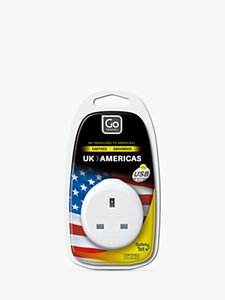 Read more about Go travel usb uk to usa travel adaptor