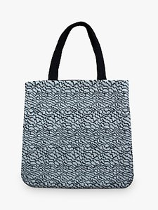 Read more about Geometric strata tote bag grey