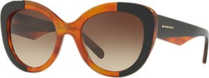 Read more about Burberry be4253 round lens sunglasses brown black