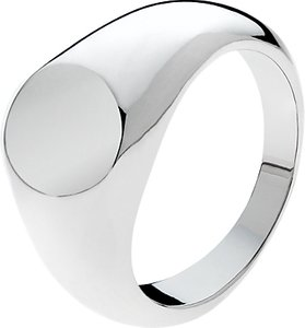 Read more about Melissa odabash signet ring silver
