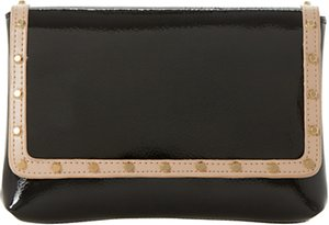 Read more about Dune borriss stud clutch bag black