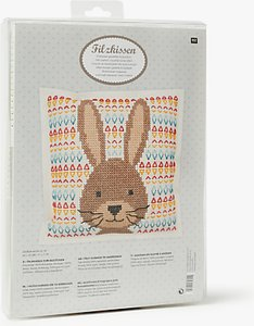Read more about Rico hare embroidery kit multi
