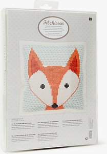 Read more about Rico fox embroidery kit multi