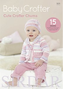 Read more about Sirdar cute crofter chums baby knitting patterns 501