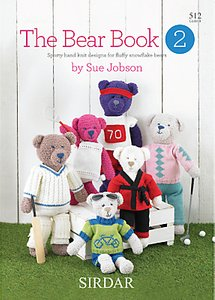 Read more about Sirdar the bear book 2 knitting patterns by sue jobson