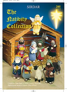 Read more about Sirdar the nativity collection knitting pattern book