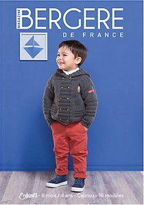 Read more about Bergere de france children and baby knitting pattern mini magazine