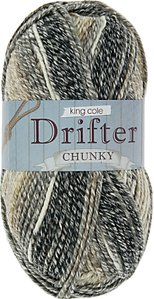 Read more about King cole drifter chunky yarn 100g