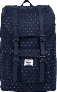 Read more about Herschel supply co little america mid-volume backpack peacoat grid
